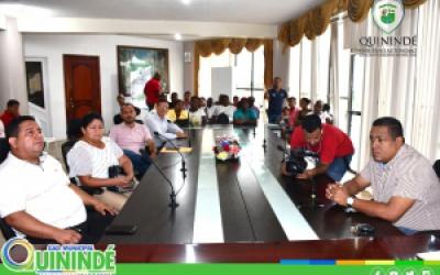 VICE ALCALDESA RECIBIO DIRECTIVOS DE COOPERATIVAS DE TRANSPORTE