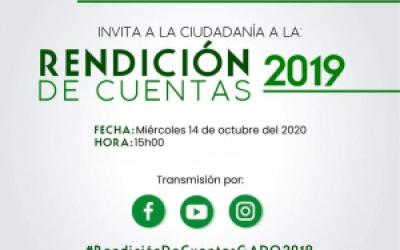 RENDICIÒN DE CUENTAS 2019.