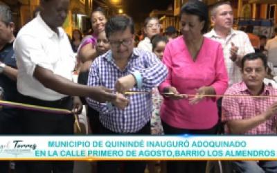 Inauguración de Obras GAD Quininde
