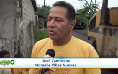 Asfaltado La Union Barrio Villas Nuevas