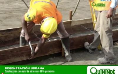 CONSTRUCCIÓN CON MANO DE OBRA 90% QUININDEÑA